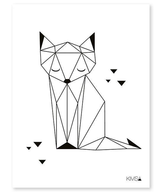 Origami Play Vos - Poster