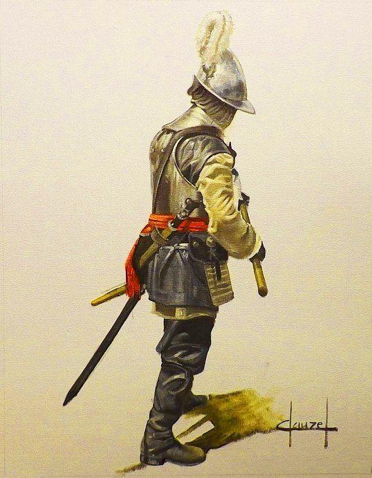 Oficial de los Tercios, cortesía de José Ferré Clauzel.