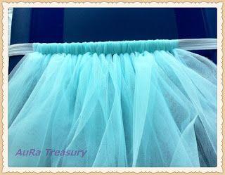 AuRa Treasury: DIY Projects – How to Make a Tutu Skirt / Dress