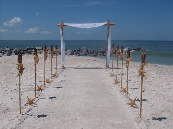 Beach Wedding Arch Ideas: Best 25+ Bamboo Wedding Arch Ideas On Pinterest