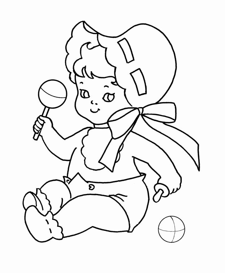 Coloring Book For Baby Awesome Free Printable Baby Coloring Pages For Kids In 2020 Coloring Pages Baby Coloring Pages Fall Coloring Pages