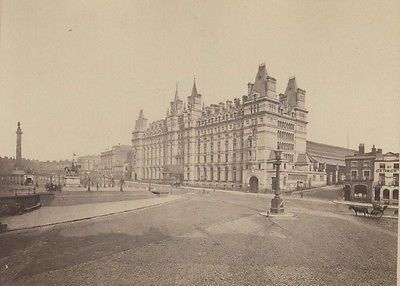 The former North Western Hotel on the east side of Lime Street, #Liverpool, fronting Lime Street railway station. The building is recorded in the National Heritage List for England as a designated Grade II listed building.