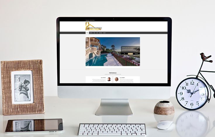 Responsive Website Design- Get over $120+ OFF a Website Design.  Latest Real Estate Agency Website, designed by Write Marketing Corp. We offer feature rich packages from just $799, everything you'd need to get started online & all packages come with FREE bonuses.  When you sign up to our Newsletter you get a 15% discount giving you over $120+ OFF your website order plus all the usual FREE bonuses our packages come with. To see the website presented here live go to, http://luxurproperty.com