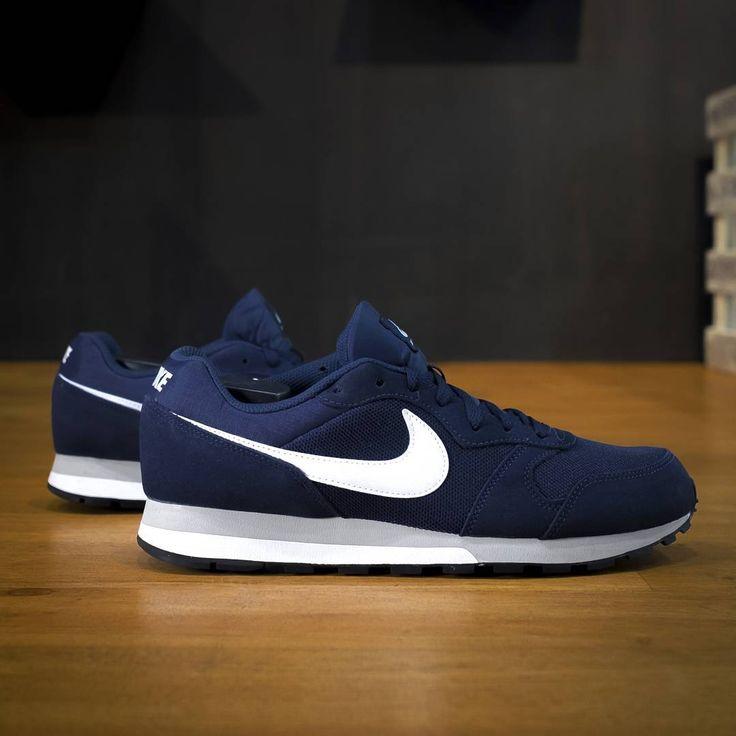 Nike MD Runner 2 Navy/White/Grey