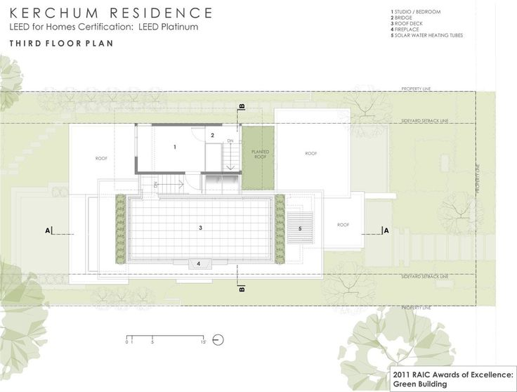 Image 12 of 20 from gallery of Kerchum Residence / Frits de Vries Architect. Plan