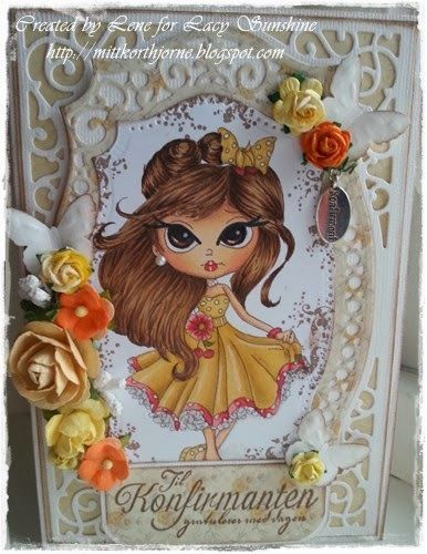 by Lene from Lacy Sunshine DT