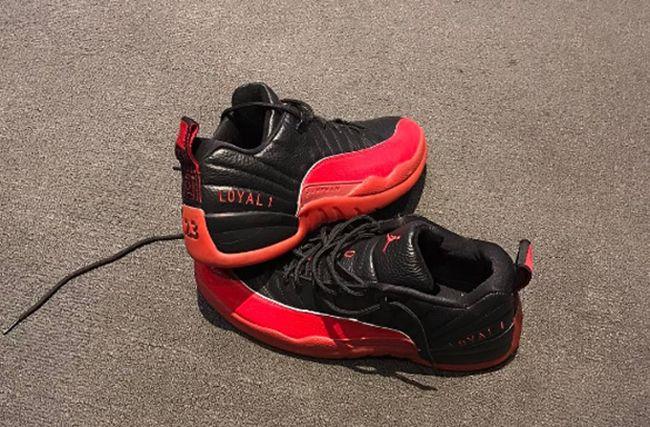 http://SneakersCartel.com P.J. Tucker Wears Air Jordan 12 Low 'Flu Game' PE for Derek Anderson #sneakers #shoes #kicks #jordan #lebron #nba #nike #adidas #reebok #airjordan #sneakerhead #fashion #sneakerscartel https://www.sneakerscartel.com/p-j-tucker-wears-air-jordan-12-low-flu-game-pe-for-derek-anderson-2/