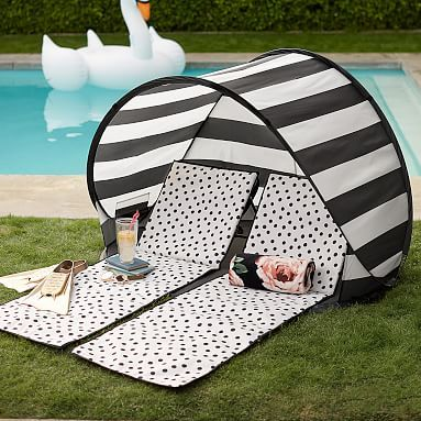 The Emily & Meritt Beach Lounger and Sun Shade Tent #pbteen