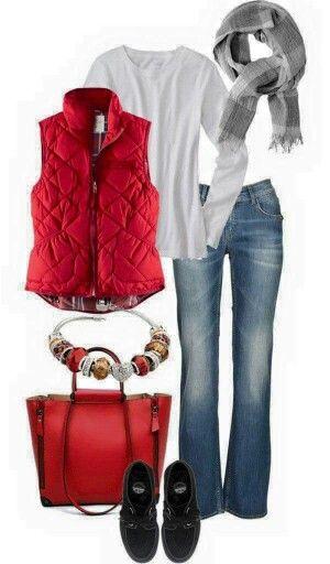 Mu00e1s de 25 ideas increu00edbles sobre Chaleco rojo en Pinterest | Chaleco acolchado Trajes al estilo ...
