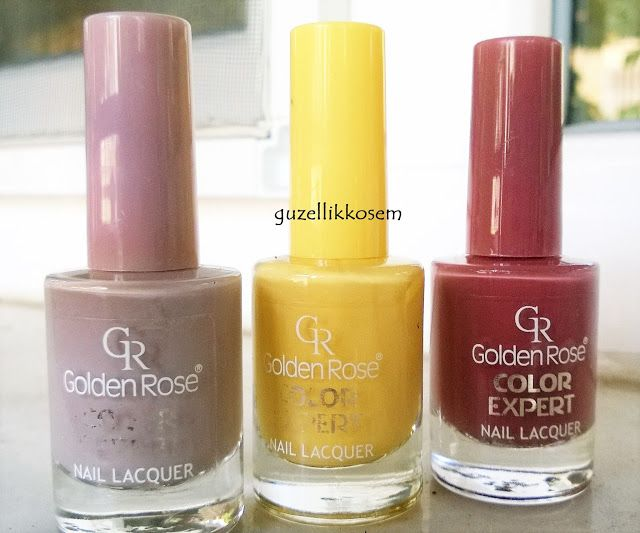 nailioness: GOLDEN ROSE COLOR EXPERT NO 10 & 44 & 102 REVIEW AND SWATCHES