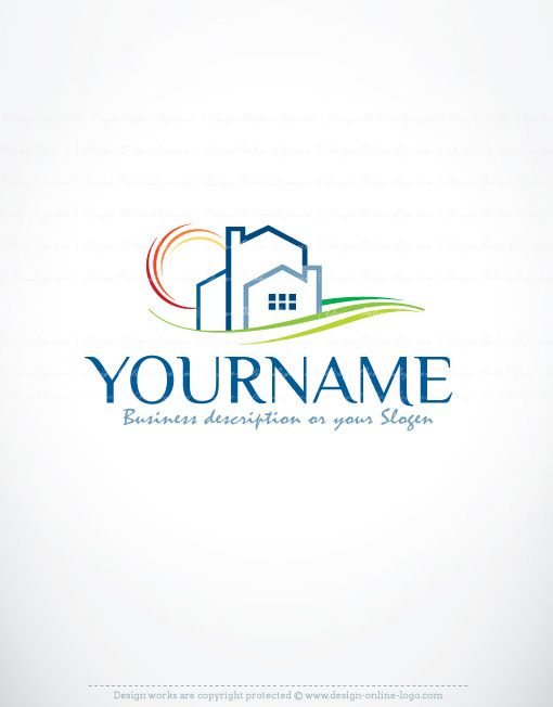 Construction Real Estate Logo template design