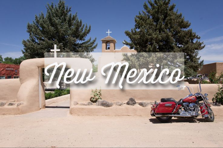 New Mexico old adobe church