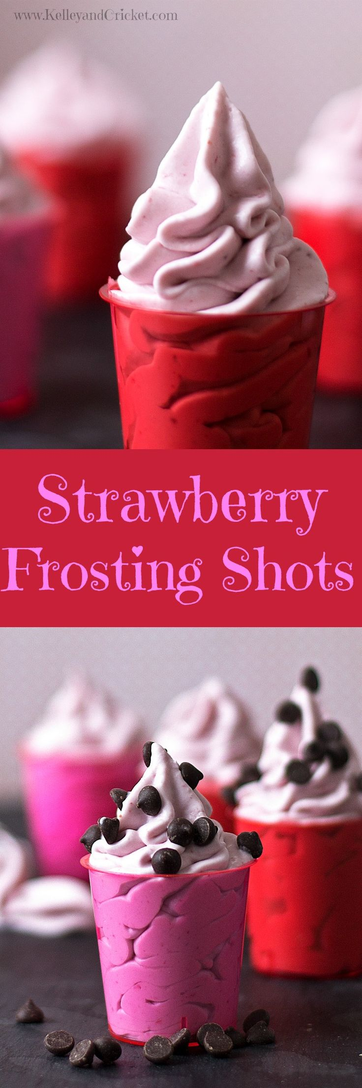 These Strawberry Frosting shots are sweet and berry-ful, and will surely satisfy your sweet tooth. They taste just like creamy and rich strawberry frosting, but they happen to be healthy, so have a few! Made with only 3 simple ingredients, you can whip these up in 5 minutes! They are dairy-free, gluten-free, and paleo.