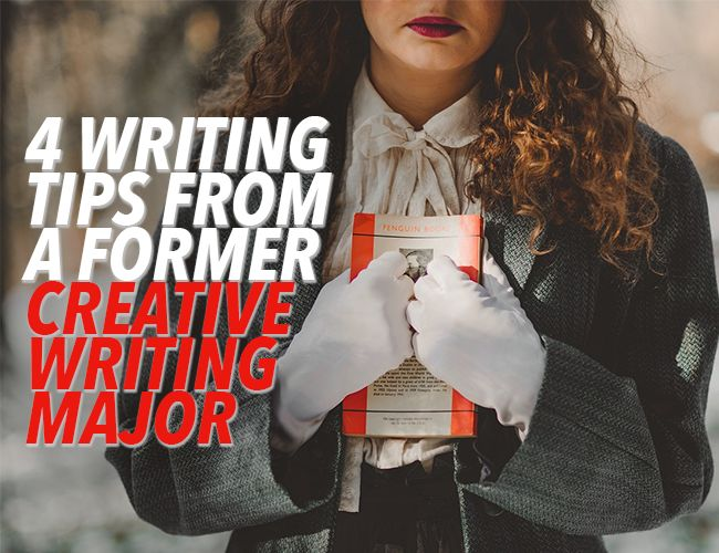As I look back on my time as a creative writing major, I see four main mistakes that I made (and that other students made, too).