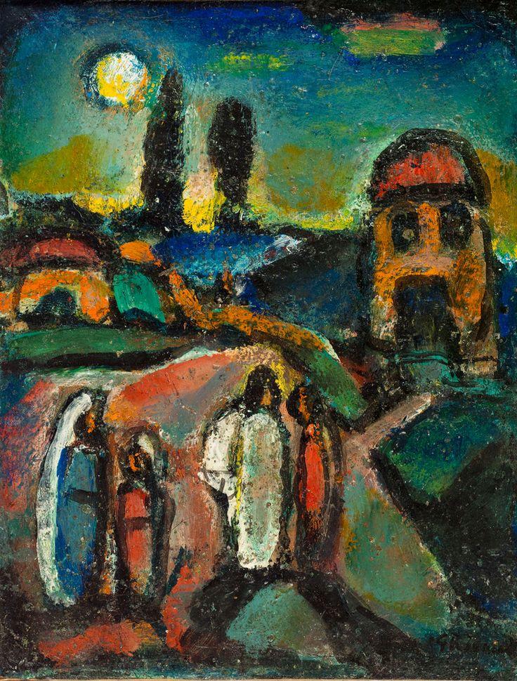 'Pastorale chrétienne' (1945) by Georges Rouault