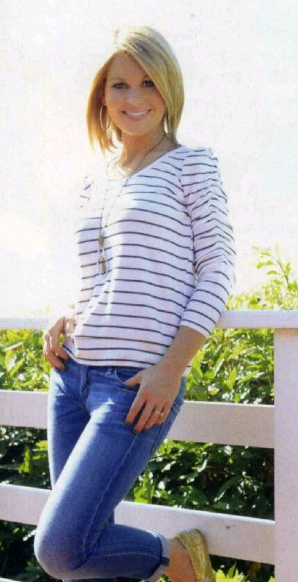 Love her casual style! Candace Cameron Bure