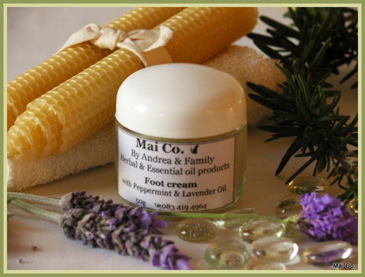 Mai Co's Foot Cream. So soothing to sore, cracked and overworked feet. Made with Aloe Ferox Gel, Olive Oil and a delicate blend of Peppermint & Lavender oils. Easily absorbed into the skin leaving them feeling nourished, relaxed and cared for.