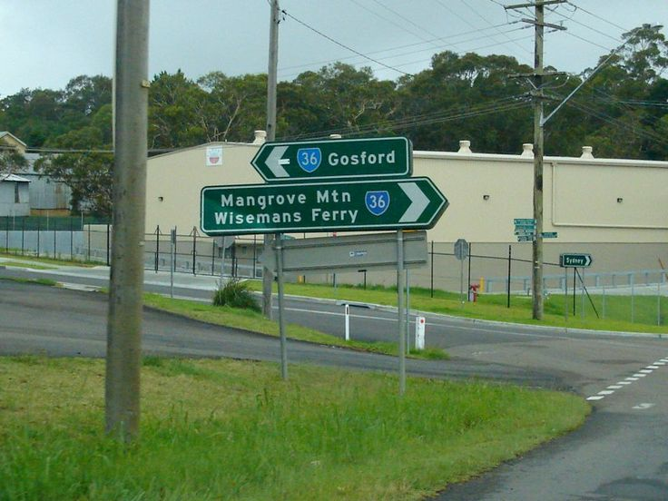Road Photos & Information: New South Wales: Old Northern Road ...