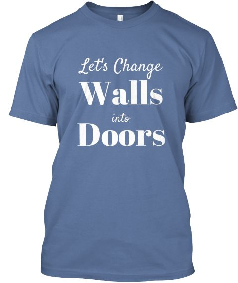 SimpleWord Let's change Walls into Doors!  Let's give peace a chance.   No wall will bring us together. Human rights first. No wall, just love!