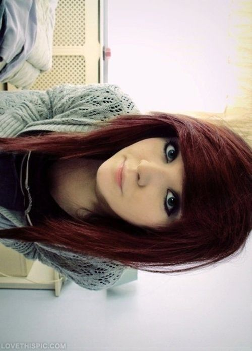 Emo hairstyle - Click image to find more hair posts