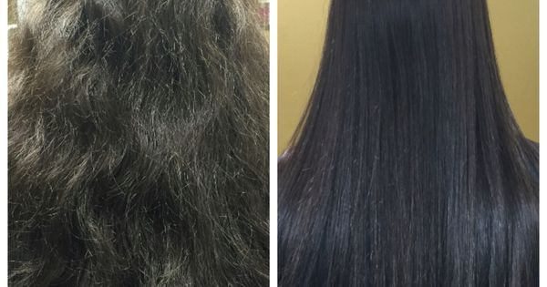 Before and after Brazillian Blowout treatment | Style | Pinterest | Brazillian blowout and Treatment