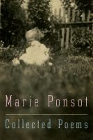 ISBN:9781101947678  Collected poems by Ponsot, Marie... 11/9/2016