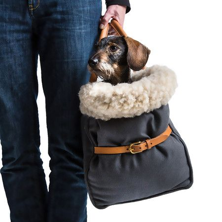Cloud 7 - Dog Carrier - Canvas Grey - Small