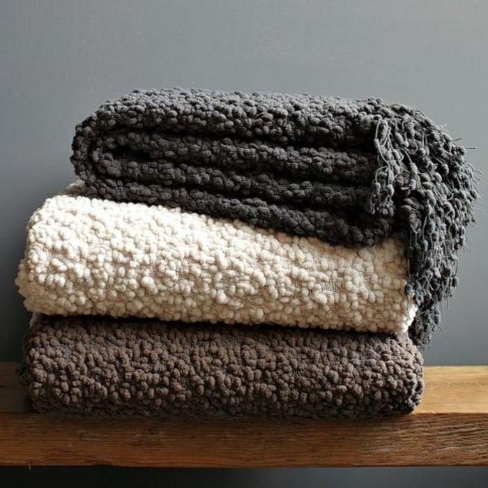 les 25 meilleures id es de la cat gorie plaid pour canap sur pinterest. Black Bedroom Furniture Sets. Home Design Ideas