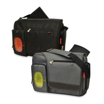 Fisher-Price® FastFinder™ Messenger Diaper Bag - BedBathandBeyond.com $45