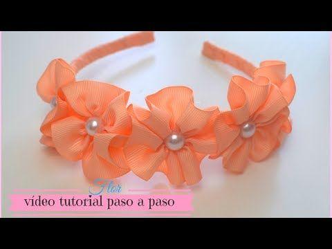 DIY: Como hacer Flores de Tela | DIY Spring Fabric Flowers - YouTube