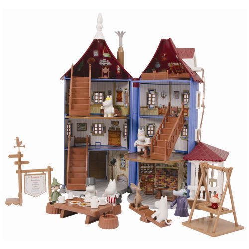 Finland Martinex Inc.-made Moomin-with 9 figures of the Moomin family ~