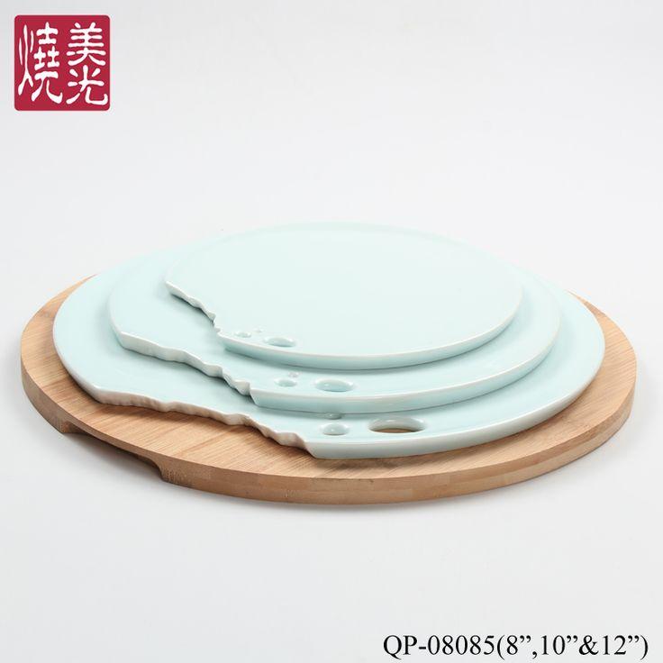 Chinese restaurant tablewareu0026porcelain celadon serving plate QP-08085 Size diameter 8 inch10  sc 1 st  Pinterest & 39 best Celadon Chinese restaurant tableware serving plateu0026porcelain ...
