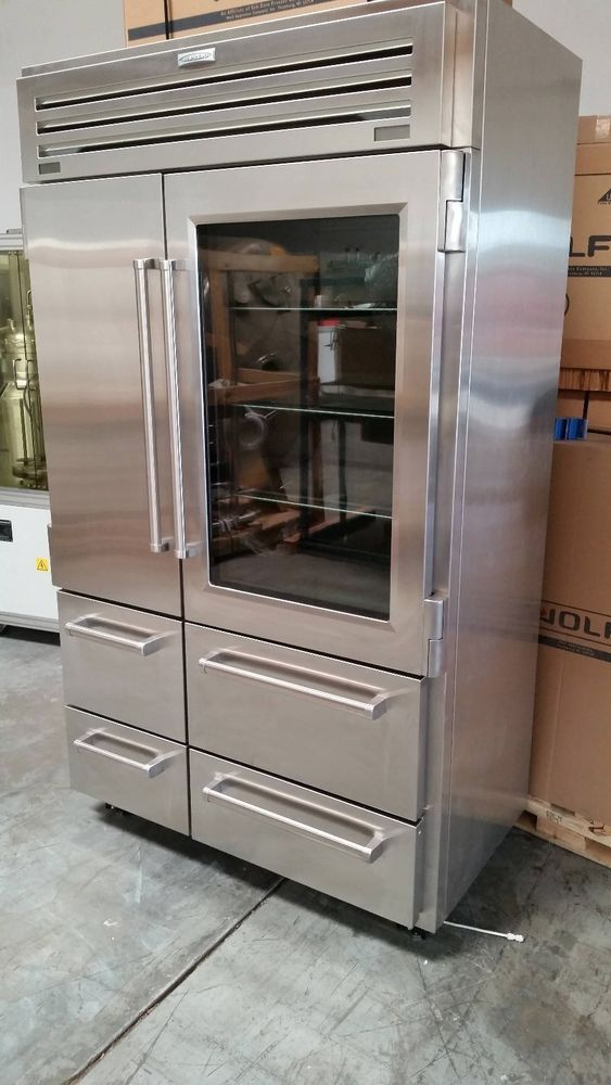 Open Box Sub Zero 648prog 48 Stainless Steel Refrigerator