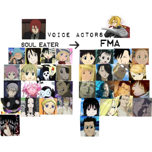 English voice actors..... I knew I recognized SOME of the voices, but the cast is virtually the same!