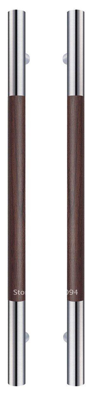 Steel door Handles | stainless steel door handle for glass door-in Door Handles from Home ...