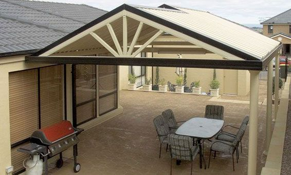 Covered Patio Addition All Seasons Design And