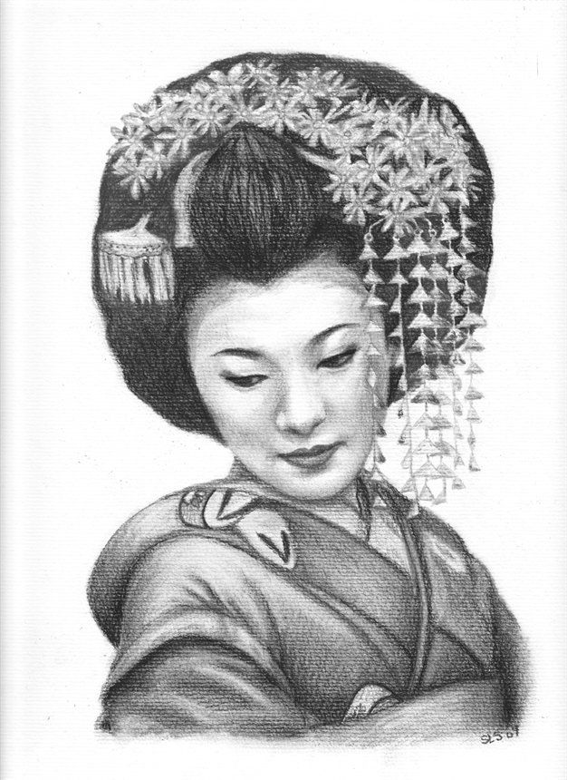 It is a photo of Transformative Asian Face Drawing