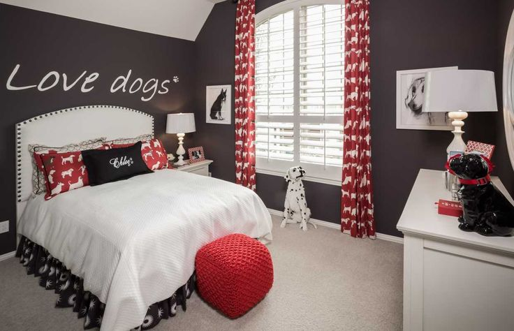 10 best rooms for dog lovers images on pinterest dog for Dog themed bedroom ideas