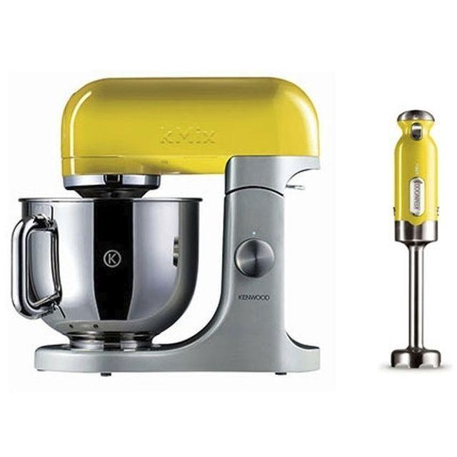 Robot multifonction KENWOOD PACK PMX98 LEMON  prix promo Robot pâtissier Mistergooddeal 340.00 € TTC -