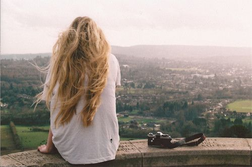 Relaxinn: Senior Pictures, Messy Hair, Inspiration, The View, Beautiful, Long Hair Dos, Scenery Photography, Landscape, Feelings