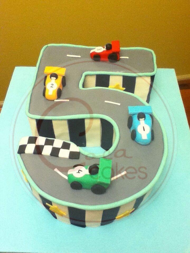 Coca Cakes - Kids Brithday - Racing Car 5