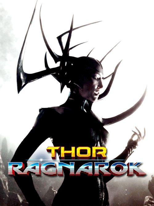 Hela 'Thor Raganrok' GIF