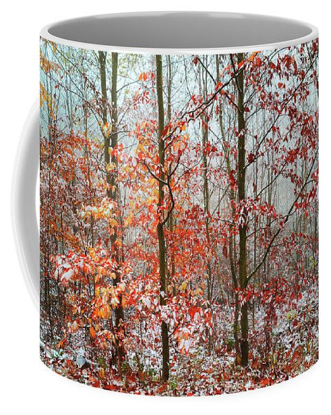 Vibrant Touch Coffee Mug by Jenny Rainbow.  Small (11 oz.)