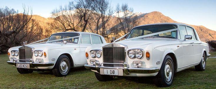 Rolls Royce for a wedding in Queenstown, New Zealand