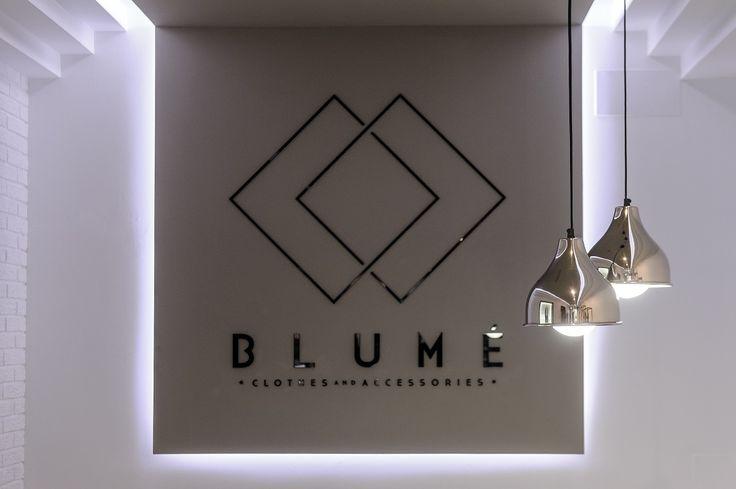 Blumé / equipoeme estudio #diseño #imagen #tienda #ropa #accesorios #iluminación