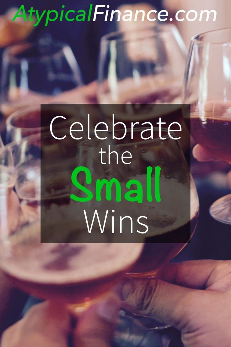 Beating yourself up over how long it's taking to pay off Debt? Motivate yourself by celebrating the small wins!
