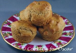 Failsafe Vanilla Muffins from Cooking for Oscar