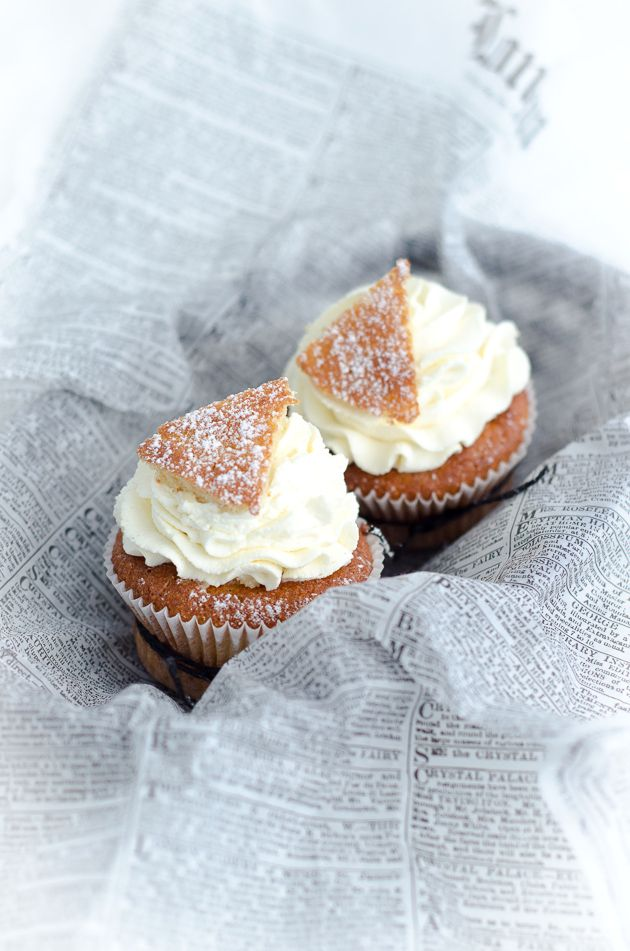 Gluten Free Cupcakes Semlor (recipe in Swedish and English)