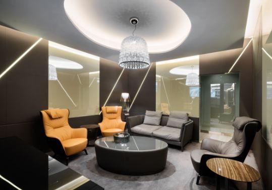 Casa Alitalia by Marco Piva Studio - Hotel Interior Design - Boutique Hotel Design #designitaliano #contemporarylounge #airportdesign See more inspirations at: brabbucontract.com