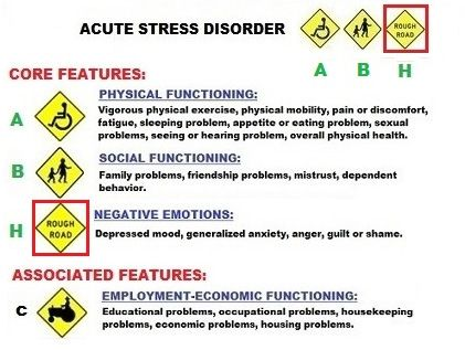 Do you have Acute Stress Reaction Disorder?